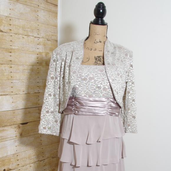 0111965ee3d6 R&M Richards Mother of the Bride dress and jacket.  M_5adbab502c705ddabe8bc940